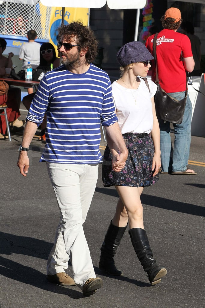 Rachel McAdams and Michael Sheen strolled hand in hand around Los Feliz yesterday. Michael covered up his handsome face with plenty of scruff and long hair while Rachel stayed incognito in a hat and sunglasses. The couple reunited in California following Rachel's recent visit to Toronto, where she was spotted at a concert with friends. Rachel and Michael might be on the go again soon though, since she is expected to be at the Cannes Film Festival to debut their film Midnight in Paris in the coming weeks. The happy couple have already done tons of traveling together, including a trip to Ireland earlier this year, and have also spent time in her native Canada. Rachel and Michael seem to still be going strong following their initial public appearance last October, and their coming promotions will hopefully mean more glimpses of the cute, PDA-loving duo!