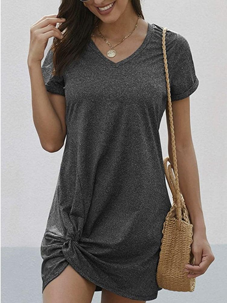 Comfortable T-Shirt Dresses on Amazon