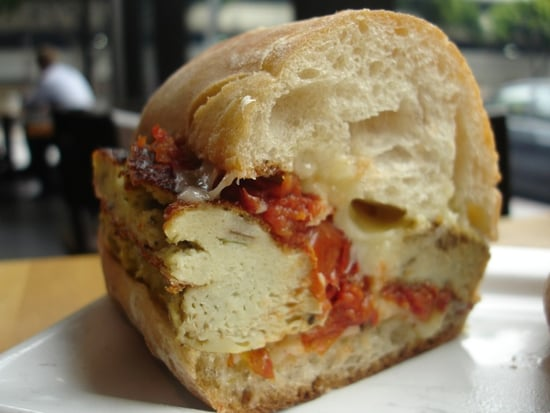 Recipe For 'Wichcraft Onion Frittata Sandwich With Roasted Tomatoes