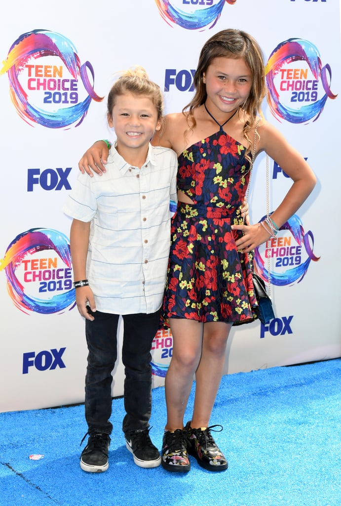 Ocean Brown and Sky Brown at the Teen Choice Awards 2019