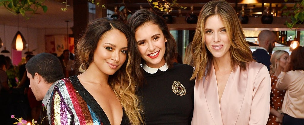 Nina Dobrev Has an Adorable Reunion With Her Vampire Diaries Family