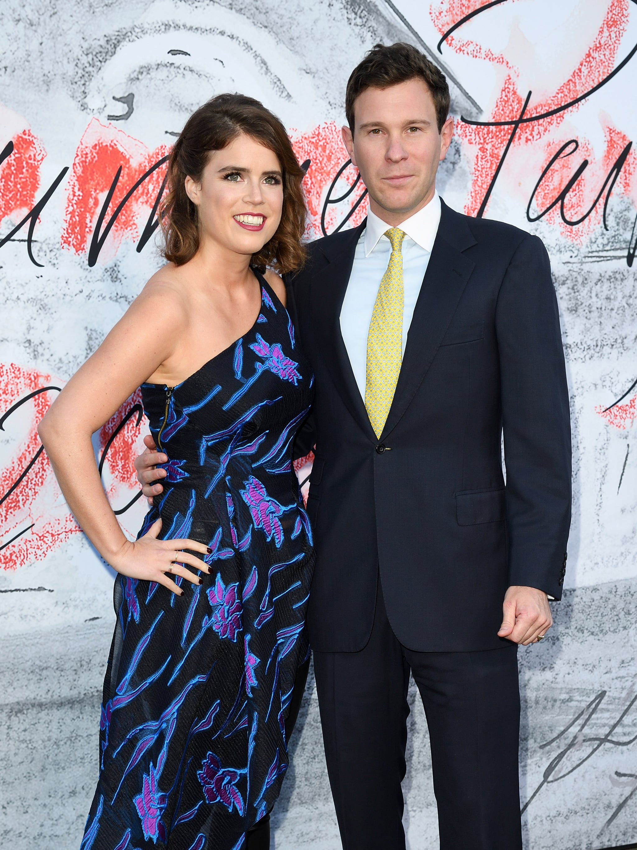 LONDON, ENGLAND - JUNE 19:  Princess Eugenie of York and Jack Brooksbank attend the Serpentine Gallery Summer Party at The Serpentine Gallery on June 19, 2018 in London, England.  (Photo by Karwai Tang/WireImage)