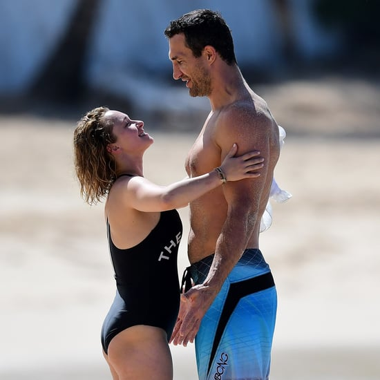 Hayden Panettiere and Wladimir Klitschko Beach PDA Feb. 2018