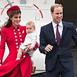 In early April, Kate Middleton and Prince William kicked off their royal tour with Prince George, making a photogenic arrival in New Zealand.