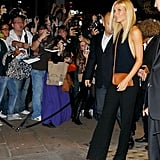 Gwyneth Paltrow at Coach's Fashion's Night Out party in London.