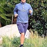 Matthew McConaughey Keeps Up His Fitness in Malibu