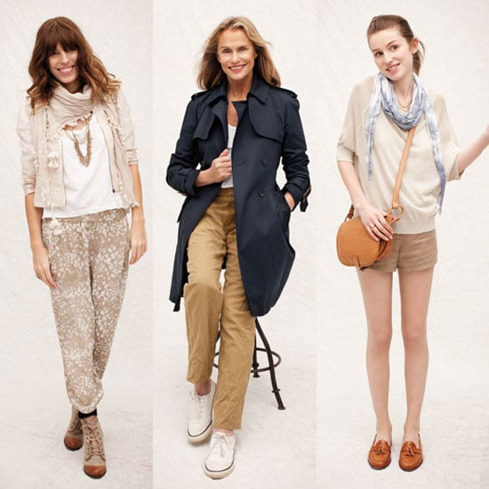 See Lauren Hutton, Tali Lennox and Lou Doillon Work It for Club Monaco Spring 2011