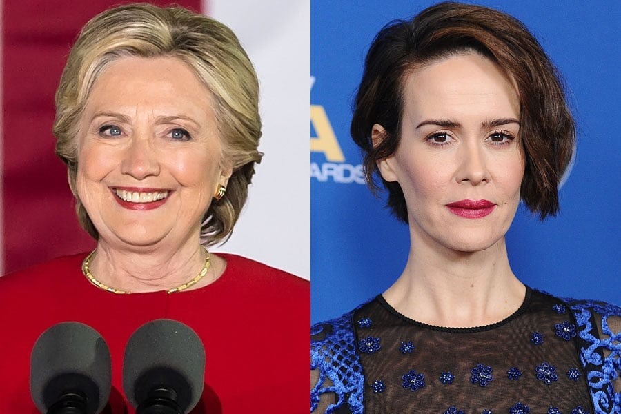 Sarah Paulson as Hillary Clinton