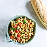 Chickpea, Corn, and Tomato Salad