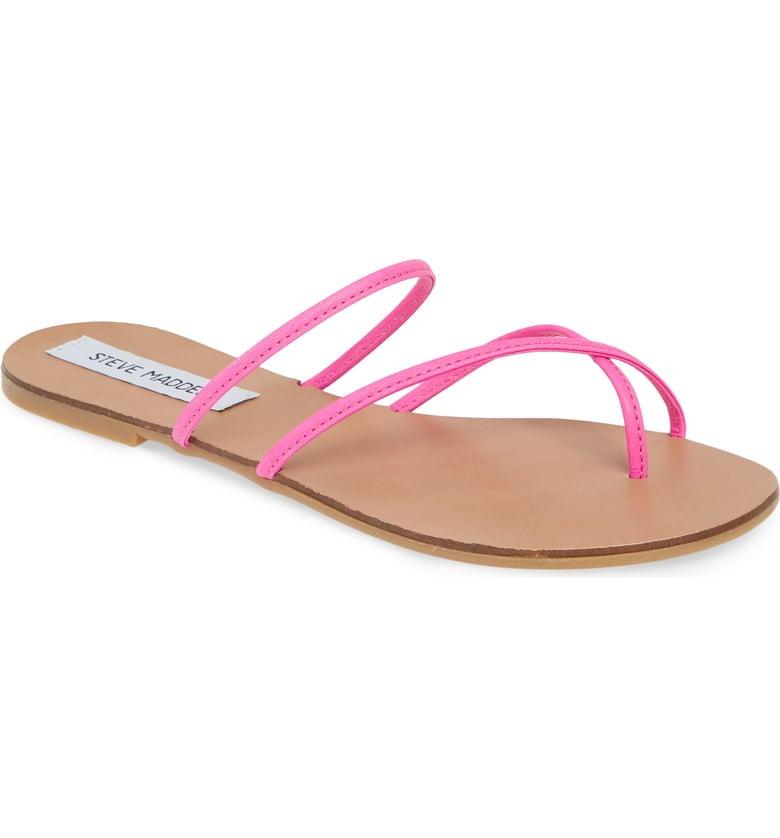 9b320937c46 Steve Madden Wise Strappy Slide Sandals   Cheap Sandals for Women ...