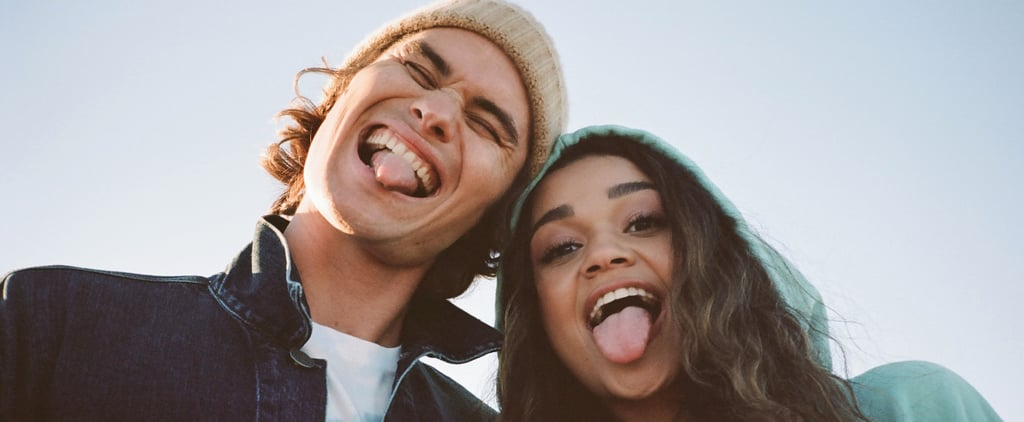 Chase Stokes and Madison Bailey Model For American Eagle