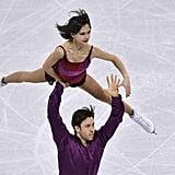 Dylan Moscovitch and Liubov Ilyushechkina in 2017