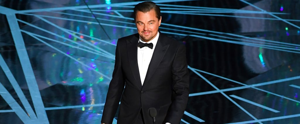 Leonardo DiCaprio Was Clearly Feeling Himself At the Oscars