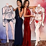 2014: Adriana Lima and Alessandra Ambrosio in the Dream Angels Fantasy Bras