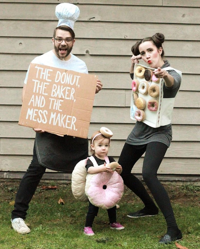 Halloween Costumes For Family Of 3 With A Baby.Family Of 3 Halloween Costumes Popsugar Family