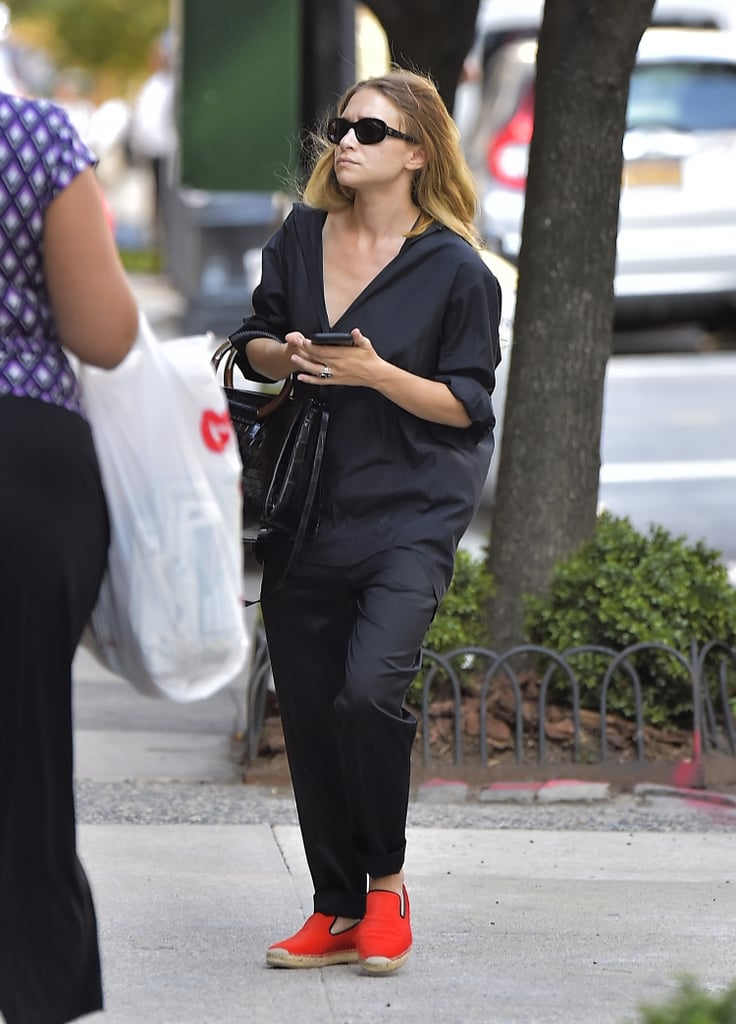 Mary-Kate Olsen's Bold Shoe Choice Is Not What We Expected