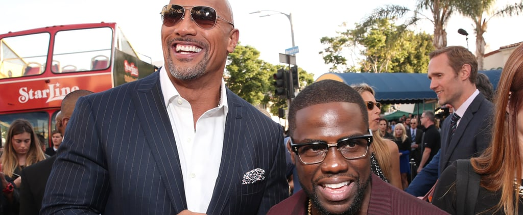 Dwayne Johnson Can't Resist Trolling Kevin Hart After He Posts a Shirtless Pic