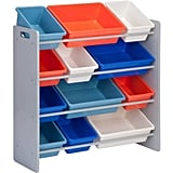 Honey Can Do Kid's Toy Organizer With 12 Storage Bins