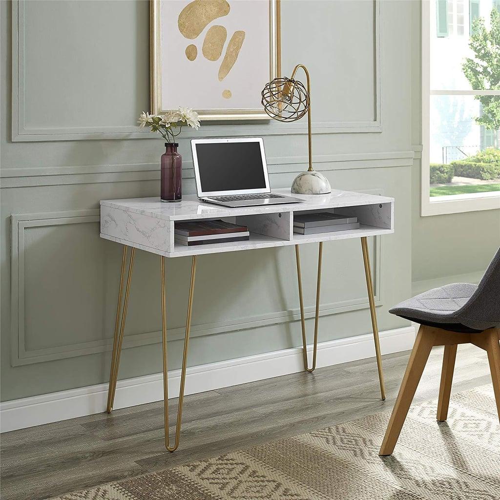 Novogratz Athena Computer Desk with Storage