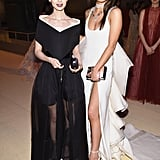 Pictured: Lily Collins and Hailee Steinfeld