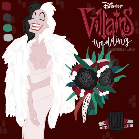 See Your Favorite Disney Villains as Brides in This Artwork