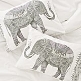 Magical Thinking Garden Elephant Pillowcase Set ($49)