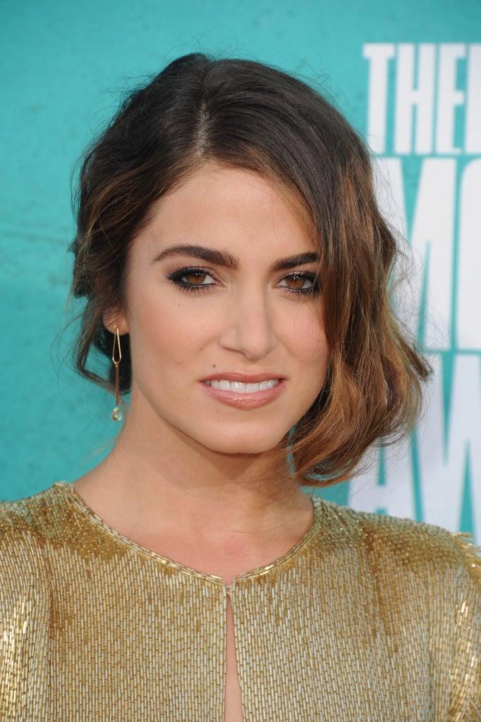Nikki Reed smiled at the MTV Movie Awards.