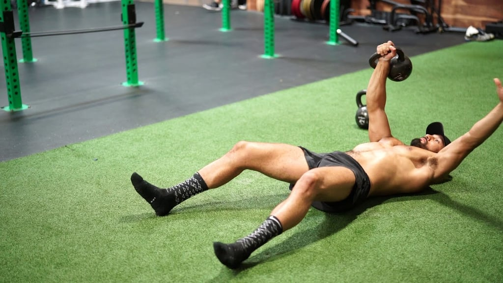 Overhead Sit-Up