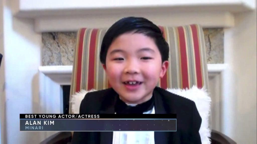 Alan Kim's Critics' Choice Awards Acceptance Speech