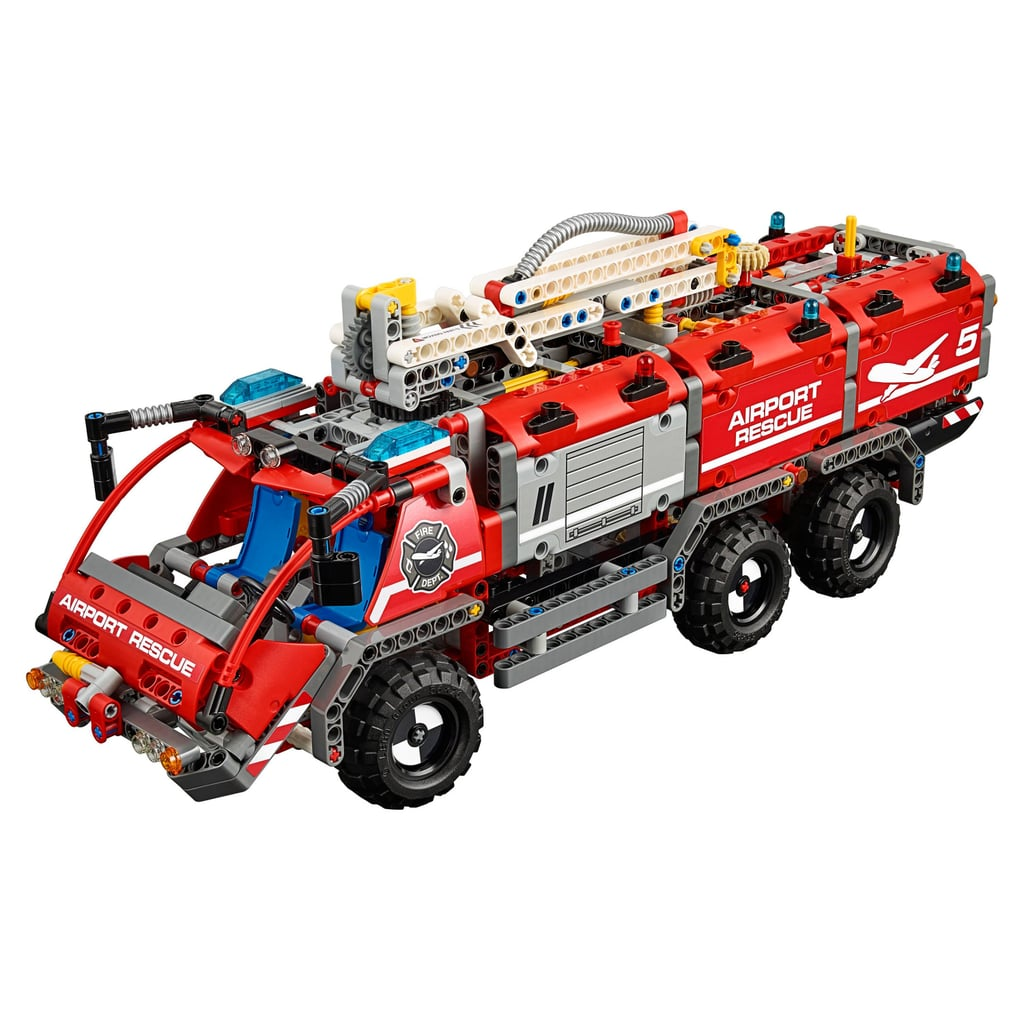 lego technic airport rescue vehicle best lego sets of. Black Bedroom Furniture Sets. Home Design Ideas