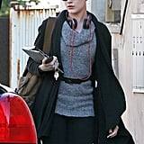 In November 2011, Evan Rachel Wood carried a copy of Just Kids in LA.