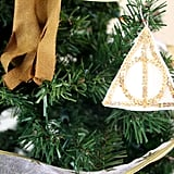 Sequined Deathly Hallows Ornament