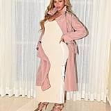 Beyoncé's Neutral Maxi Look