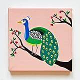Peacock Nursery Art