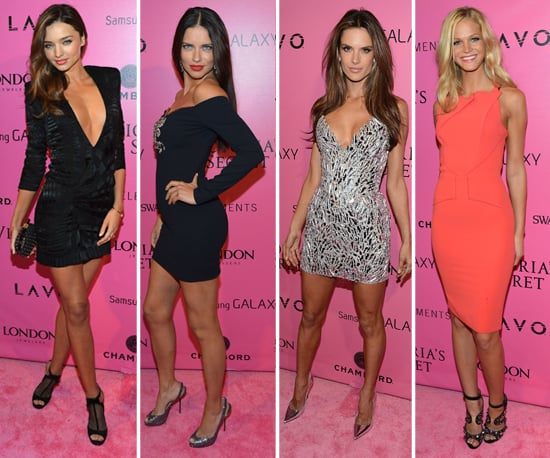 Miranda, Adriana, Alessandra, and the Angels Party Postshow
