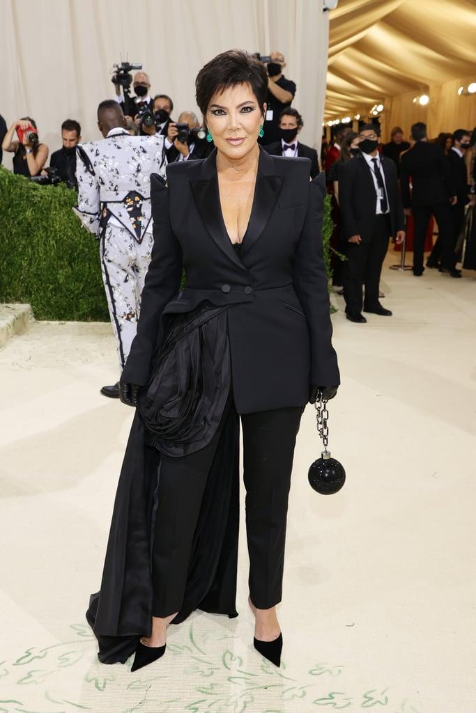 Kris Jenner at the 2021 Met Gala