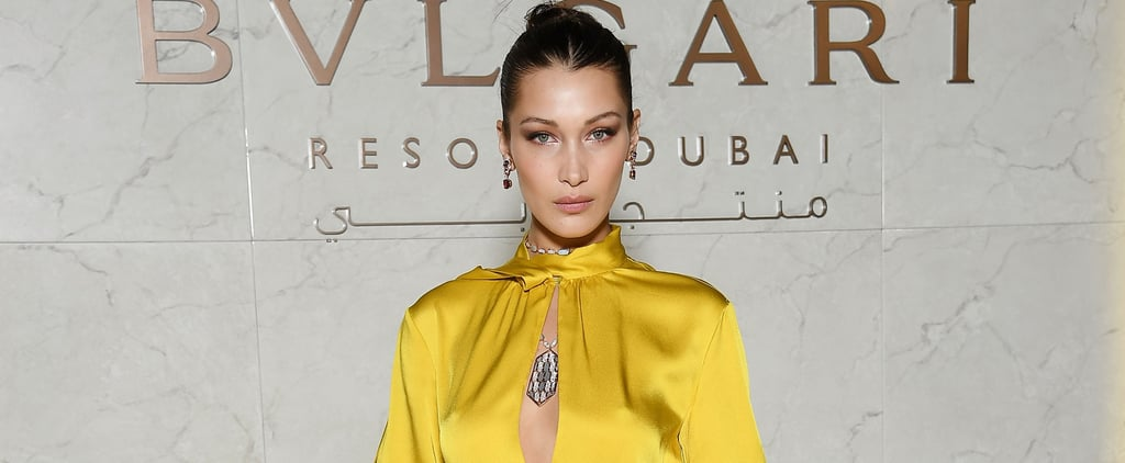 Bella Hadid's Shoes Aren't Easy to Get Into, but They're Damn Sexy