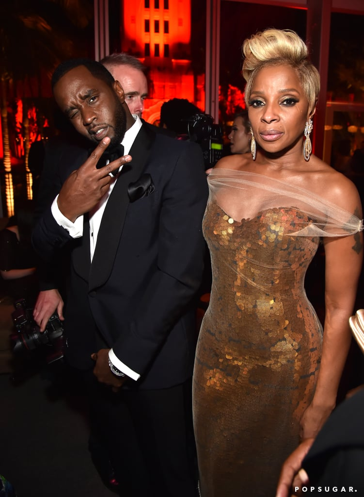 Pictured: P. Diddy and Mary J. Blige