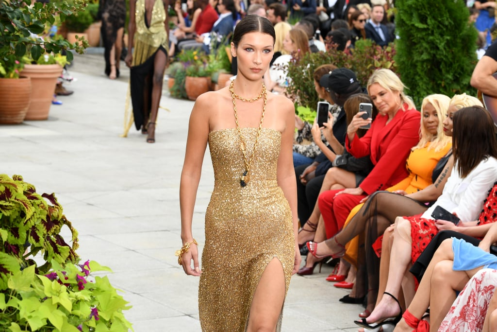 Bella Hadid Walking the Runway For Oscar De La Renta During