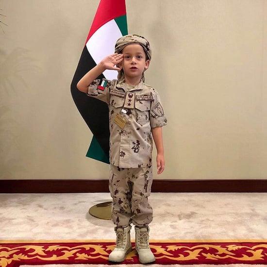 Sheikh Zayed Sixth Birthday