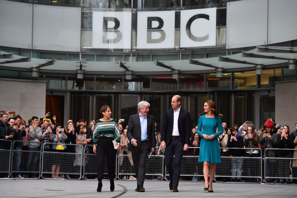 Prince William and Kate Middleton at the BBC November 2018