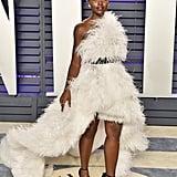 Lupita Nyong'o Oscar de la Renta Dress at the 2019 Oscars