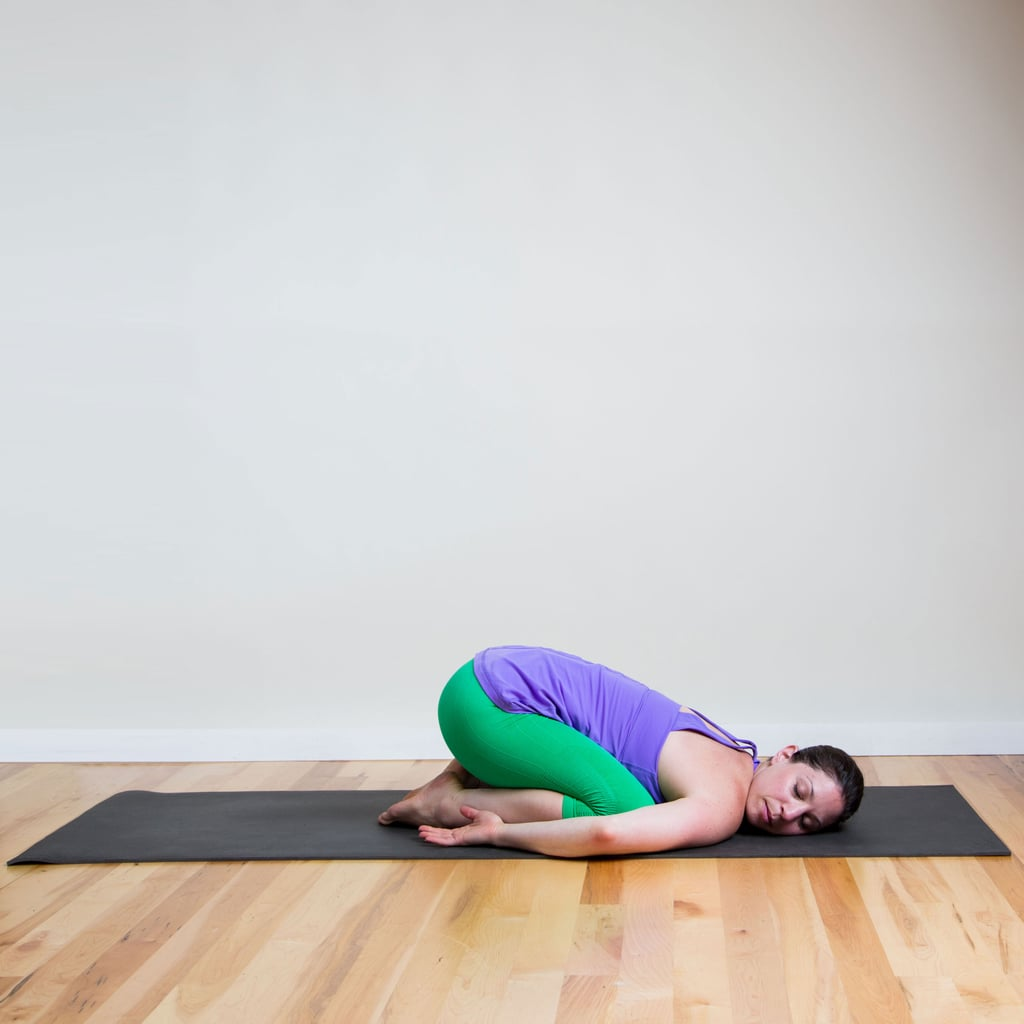 Child's Pose With Relaxed Arms