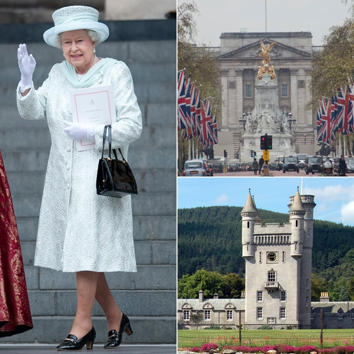 A Mind-Blowing Tour of Queen Elizabeth II's Many Castles