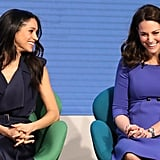 Meghan and Kate Shared a Laugh on Stage