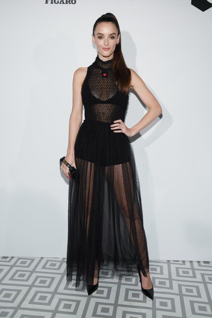 Charlotte Le Bon Sexiest Dresses At Cannes Film Festival 2018