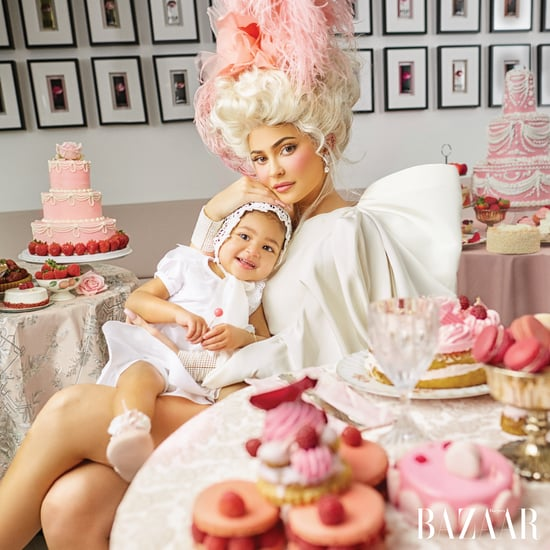 Kylie Jenner Spoke About Coparenting in Harper's Bazaar