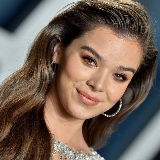 See Hailee Steinfeld's Deep French Manicure