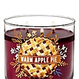 Bath and Body Works Warm Apple Pie 3-Wick Candle