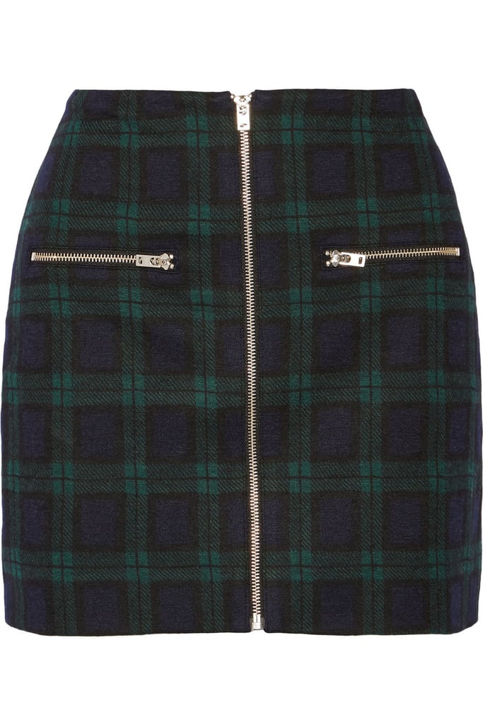 Madewell Plaid Skirt ($100)